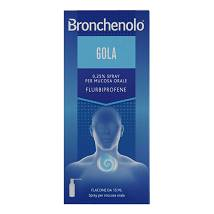 BRONCHENOLO GOLA*OS SPRAY 15ML