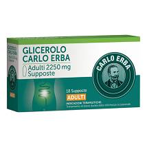 GLICEROLO ADULTI supposte 2250mg 18pz