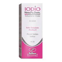 IODIO SOL ALCO II*20ML 2%/2,5%