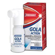 Iodosan Gola Action spray 10 ml