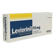 LEVIORINIL*7CPR RIV 10MG