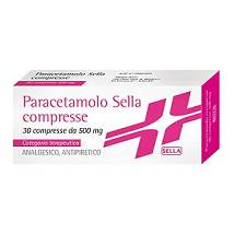 PARACETAMOLO SELLA*30CPR 500MG