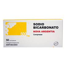 SODIO BICARB*50CPR 500MG