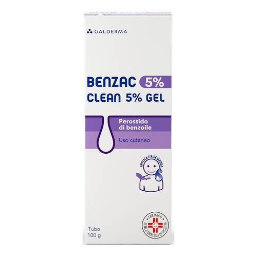 BENZAC*CLEAN 5% GEL 100G