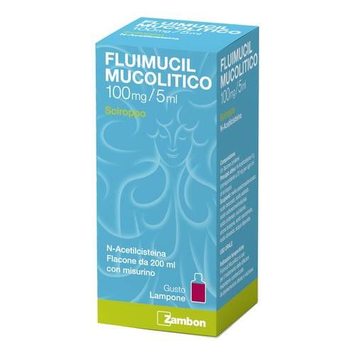 FLUIMUCIL MUCOL*SCIR 100MG/5ML